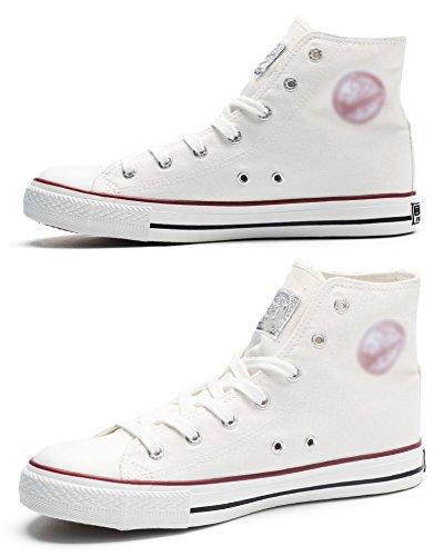 scarpe scarpe tela marea WFL da da alte da scarpe da uomo da scarpe scarpe scarpe uomo Scarpe bianca da uomo uomo uomo alte in IRwW16Rq