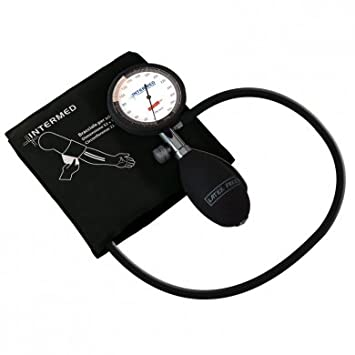 Tensiómetro PDA a aneroide Medidor de presión, color negro: Amazon.es: Salud y cuidado personal
