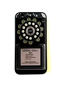 CellPowerCasesTM Rotary Payphone iPhone 4 Case - Fits iPhone 4 and iPhone 4S
