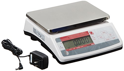 Ohaus Valor V11P30 1000 Series Compact Portion Scales, Single Display Model, 66 lb (1000 Series External Battery)