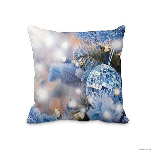 Christmas Pillow Covers Holiday Christmas Ornaments Throw Pillow Cases for Home Car - Night Falls Before Online Watch