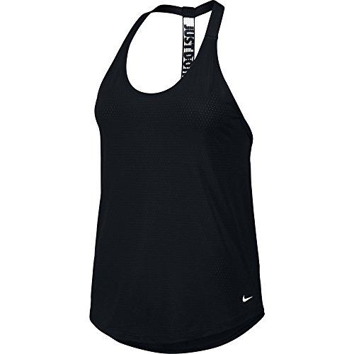 Women's Nike Training Tank Black/White Size Medium