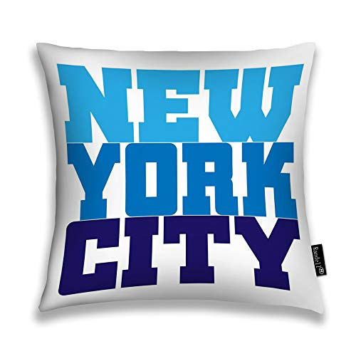 Randell Throw Pillow Covers New York Athletic Style NYC Fashion American Stylish Home Decorative Throw Pillowcases Couch Cases 18