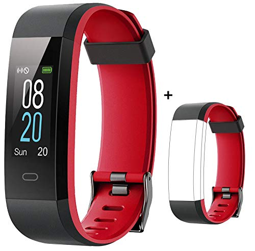 Willful Fitness Tracker with Heart Rate Monitor IP68 Waterproof, Activity Tracker (14 Modes) Pedometer with Step Counter…