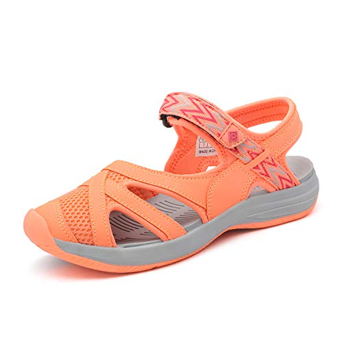 - DREAM PAIRS Women's Hiking Sandals Sport Athletic Sandal Coral Size 5.5 M US 181103