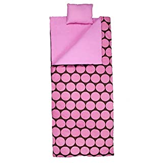 Wildkin Sleeping Bag, Big Dot Pink (B003F1JIKE) | Amazon Products