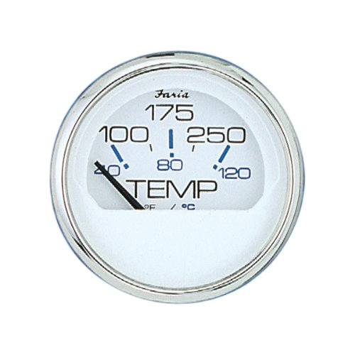Faria Oil - Faria 13804 Chesapeake 100-250°F Water Temp Gauge