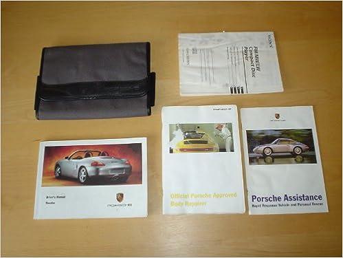 PORSCHE BOXSTER OWNERS MANUAL HANDBOOK - 986 BOXTER 2.5 LITRE ENGINE on porsche 911 repair manuals, porsche cayman interior, porsche cayman manual, porsche cayenne 2004 user manual, porsche cayenne gts manual,