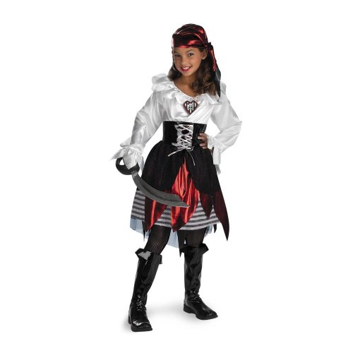 Pirate Lass Costume - Medium