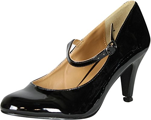 City-Classified-Womens-Kaylee-H-Mary-Jane-Pumps-Shoes