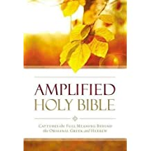 Amplified Outreach Bible, Paperback: Capture the Full Meaning Behind the Original Greek and Hebrew