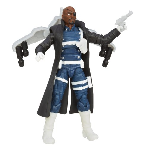 Marvel Avengers Assemble, Jet Armor Nick Fury Action Figure, 3.75 Inches