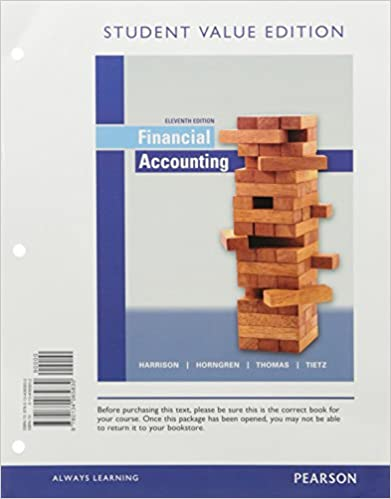 Amazon financial accounting student value edition plus mylab amazon financial accounting student value edition plus mylab accounting with pearson etext access card package 11th edition 9780134417363 fandeluxe Choice Image