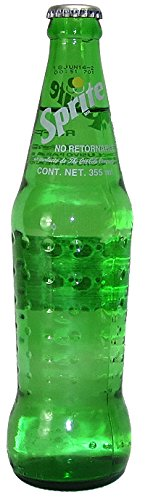 Mexican Sprite 6-12oz (355ml) Glass Bottles Mexico