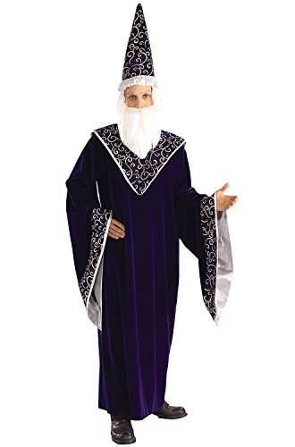 Rubie's Costume Co. Men's Merlin the Court Magician, As Shown, Standard