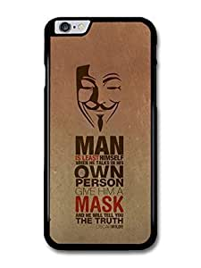 nymous Mask The Truth Oscar Wilde Life Love Inspirational Quote Case Cover For SamSung Galaxy Note 3 (5.5)