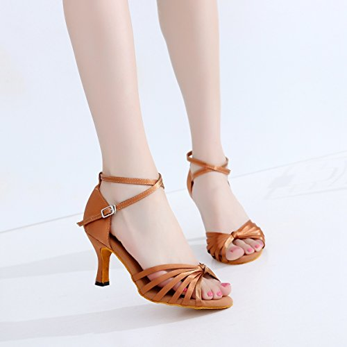 donna Heel 7 Bronze Ballroom 5cm Minitoo Y4Oq5zxx