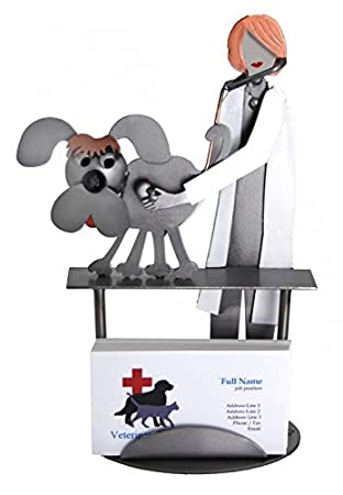 H K Skulpturen 6764bc Weiblich Tierarzt Juge Hund