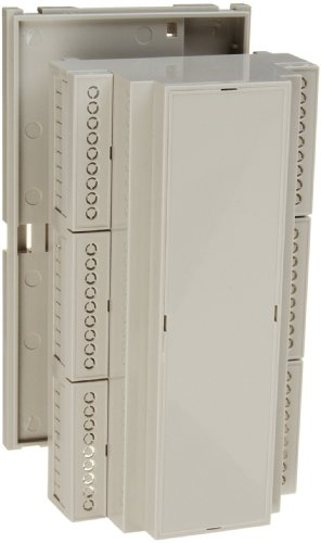 BUD Industries DMB-4774 Plastic DIN Rail Mount Multi Board Box, 6-17/64