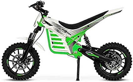 VIRTUE Mini Moto electrica de Motocross Cross bateria 1000w 36v ...