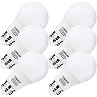 LED LOHAS 9W A19bombilla LED E26bombillas LED de 3000K luz blanco/Soft White, más brillantes de 60W BOMBILLAS incandescentes Equivalente, H&PC-64492, 9.00watts, 120.00 volts