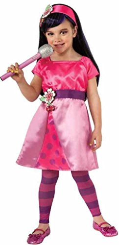 Strawberry Shortcake Halloween Costume (Strawberry Shortcake Cherry Jam Costume, Small)