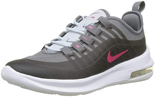 NIKE Damen Kinder Sneaker Air Max Axis Laufschuhe, Mehrfarbig (Black/Rush Pink-anthracite-cool Grey 001)