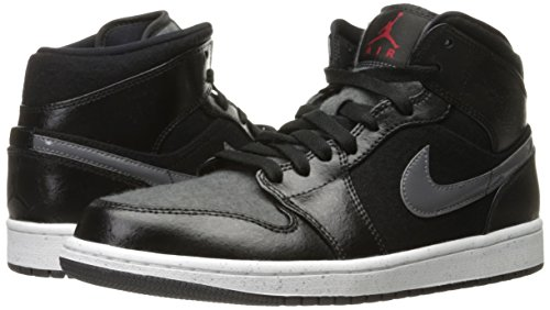 Nike Air Jordan 1 Mid PREM Mens Hi Top Basketball Trainers