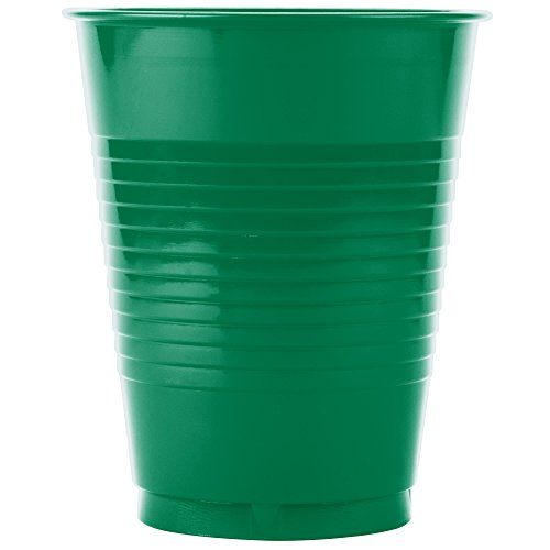 TableTop King P16GRL-00009 16 oz. Green Plastic Cup - 1000/Case