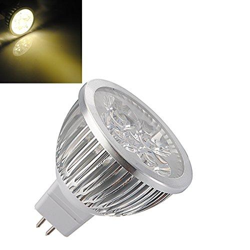 Anncus MR16 4W Warm White High Power Focus 4 LED Spot Lamp Bulbs AC/DC 12V