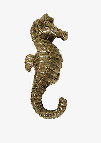 Solid Brass Seahorse Doorknocker ()