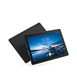 "Lenovo Tab E10 10 Inch (10.1"") HD Tablet – (Quad Core 1.3GHz, 2GB RAM, 16GB eMCP, Android Oreo) – Slate Black"