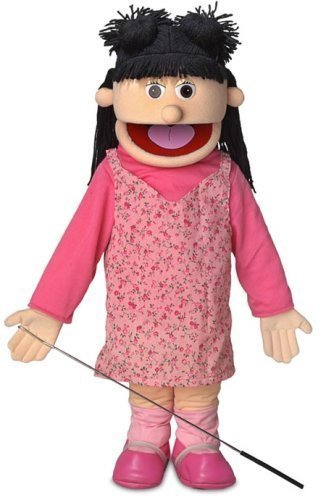 ''Susie'', 25In Full Body Puppet, Peach -Affordable Gift for your Little One! Item #DSPU-SP2571 ''Susie'' Silly Puppets