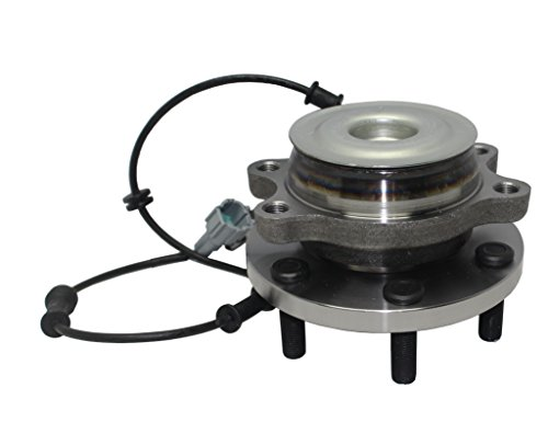 Detroit Axle - 2WD Only Brand New Front Wheel Hub and Bearing Assembly for 05-16 Nissan Frontier 2WD -[05-12 Pathfinder 2WD] - 05-15 Xterra 2WD - [09-12 Equator 2WD] 6 Bolt W/ABS 515064