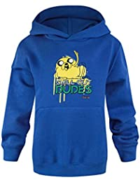 Noisy Sauce Official Adventure Time Chill Out Boys Hoodie