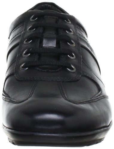 Geox Lace Sneaker Men's Black Symbol Up Fashion RwRF6U7q