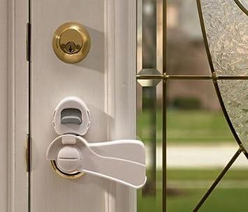 Amazon.com : KidCo Lever Lock for Decorative Lever Door Handles, 2 ...