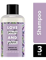 Love Beauty and Planet Argan Oil & Lavender Smooth and Serene Shampoo 3 oz