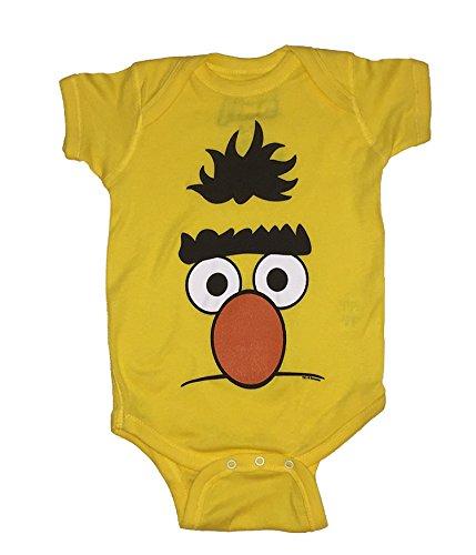 Sesame Street Baby Boys Bert One Piece Snap