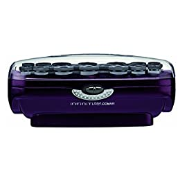 conair - 417hx9DGlVL - INFINITIPRO BY CONAIR Instant Heat Ceramic Flocked Rollers, 20 count