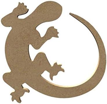 Salamandre en bois 15 cm