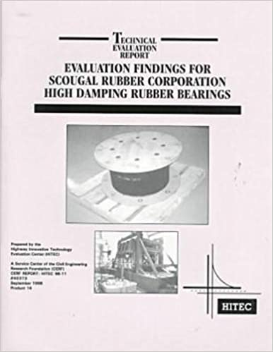 Evaluation Findings For Scougal Rubber Corporation High Damping