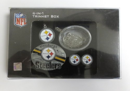 - NFL Pittsburgh Steelers 4 in 1 Trinket Box