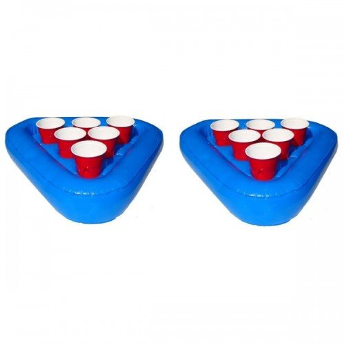 Inflatable Floating Beer Pong Rack - Set of Two 1 Each