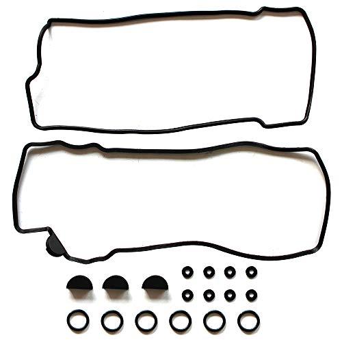 (ROADFAR Valve Cover Gasket Set Kit for Chevrolet Tracker Suzuki Grand Vitara XL-7 2.5L 2.7L 99 00 01 02 03 04 05)