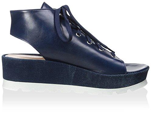 Chaniotakis Dames Open Teen Sandaal Blauw