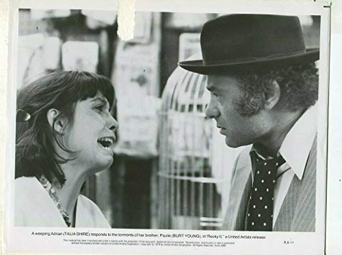 Rocky ll - Talia Shire Burt Young 1979 Press Photo -
