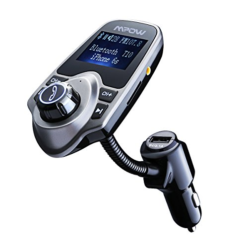 mpow-bluetooth-fm-transmitter-mp3-player-hands-free-calling-radio-car-kit-with-tf-card-slot