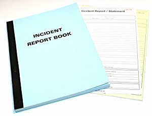 incident report book buy Tidyform provides a large number of free and hand-picked incident report template, which can be used for small, medium and large-sized enterprises you can find.