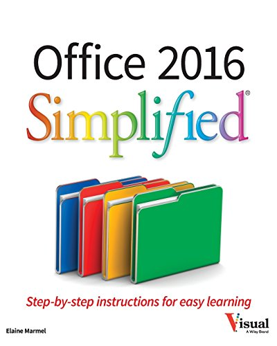 Best Microsoft Office 2016 Books to Learn Step by Step
